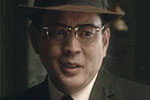 Set still of Scott Takeda as Mr. Kobayashi on the Amazon series MAN IN THE HIGH CASTLE